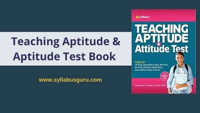 teaching aptitude pdf
