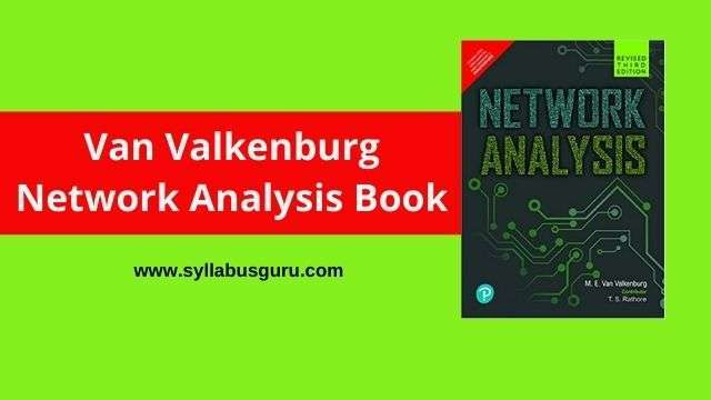 van valkenburg network analysis pdf