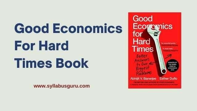 good economics for hard times pdf