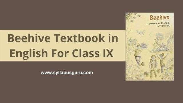 beehive class 9 pdf download