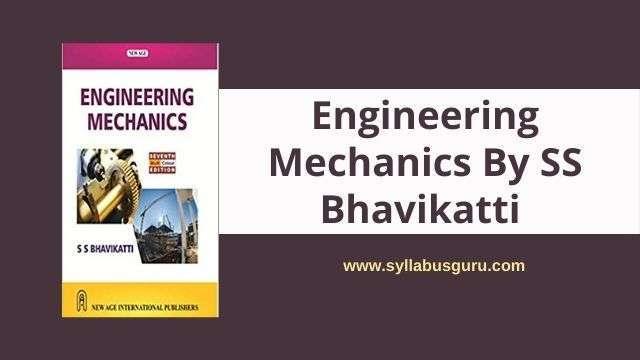 engineering mechanics by ss bhavikatti pdf