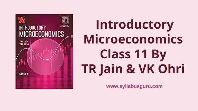 vk ohri microeconomics class 11 pdf download